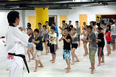 欧青年团跆拳道